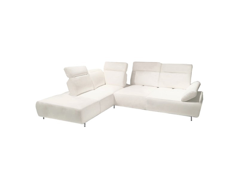 Martina sectional white - Dream art Gallery