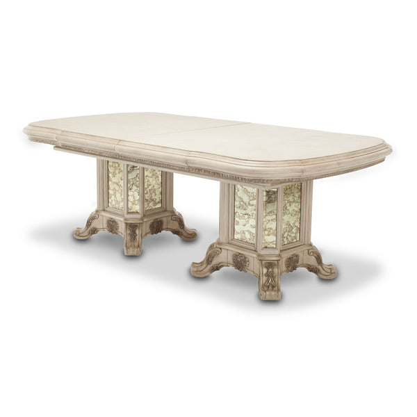PLATINE DE ROYALE CHAMPAGNE Rectangular Dining Table