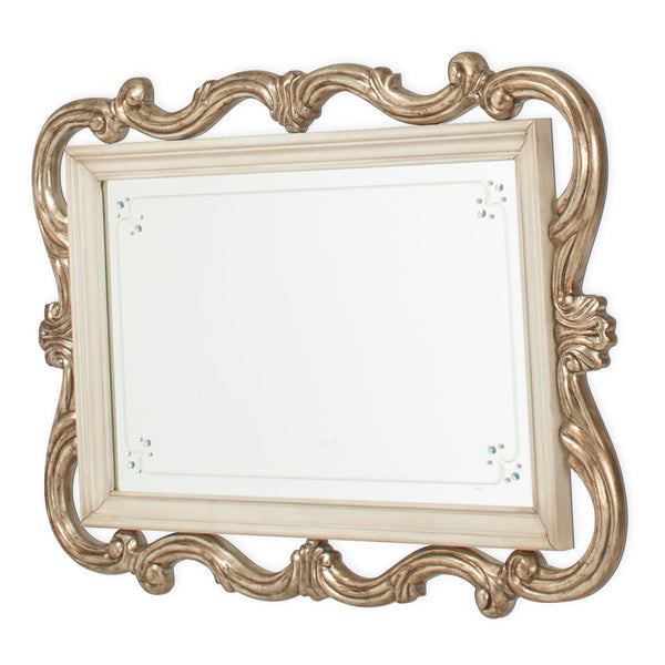 Platine De Royale Wall Mirror Champagne - Dream art Gallery