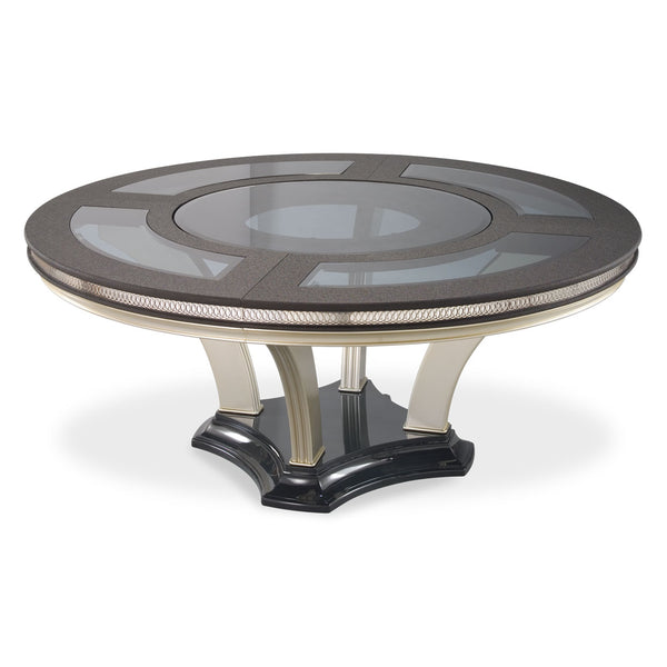 HOLLYWOOD SWANK Round Dining Table - Dream art Gallery