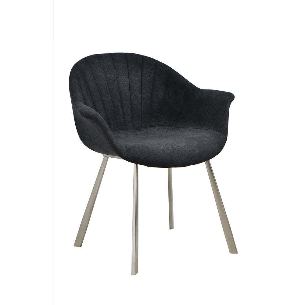 Natalie dining chair black - Dreamart Gallery
