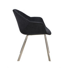 Load image into Gallery viewer, Natalie dining chair black - Dreamart Gallery
