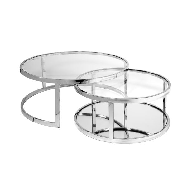 Avon Nesting Coffee Tables (Set Of 2) - Dream art Gallery