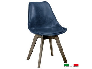 Pauline dining chair blue - Dream art Gallery