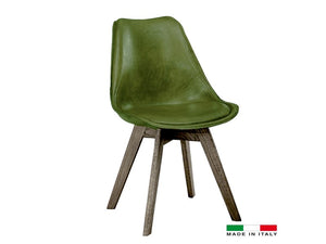 Pauline dining chair green - Dream art Gallery