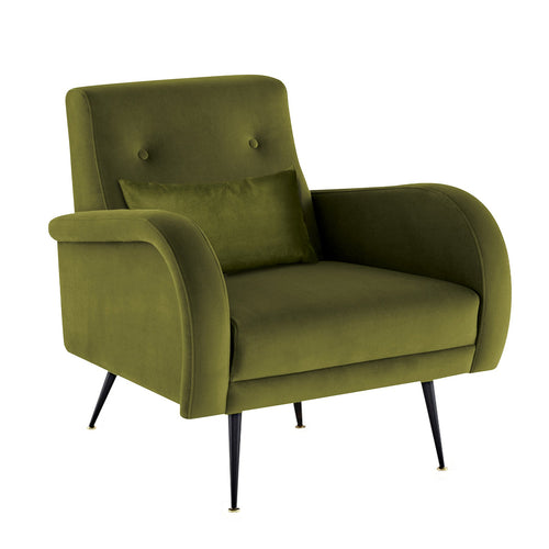 basso - lounge chair green