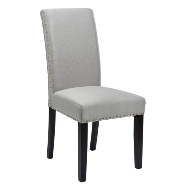 Scarpa Steel Fabric Dining Chair - Dream art Gallery