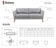 Load image into Gallery viewer, KAHN SOFA - Dreamart Gallery