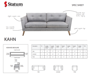 KAHN SOFA - Dreamart Gallery