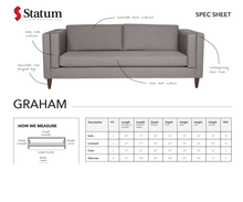 Load image into Gallery viewer, GRAHAM SOFA - Dreamart Gallery