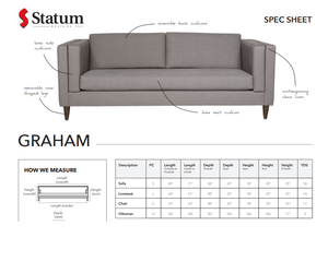 GRAHAM SOFA - Dream art Gallery