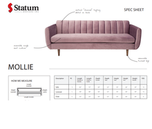 Load image into Gallery viewer, MOLLIE SOFA - Dream art Gallery