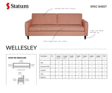 Load image into Gallery viewer, WELLESLEY SOFA - Dreamart Gallery