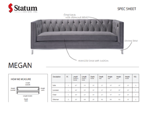 MEGAN SOFA - Dreamart Gallery