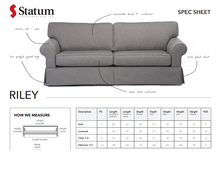 Load image into Gallery viewer, RILEY SOFA - Dreamart Gallery