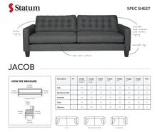 Load image into Gallery viewer, JACOB SOFA