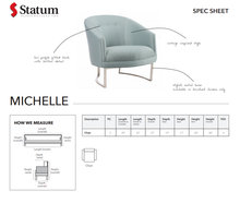 Load image into Gallery viewer, MICHELLE ACCENT CHAIR - Dream art Gallery