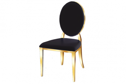 Gold Annie Dining Chair - Dream art Gallery