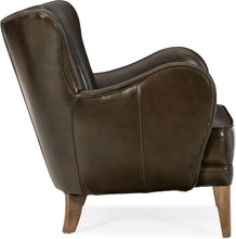 Load image into Gallery viewer, Hooker Furniture Living Room Treasure Leather Club Chair - Dream art Gallery
