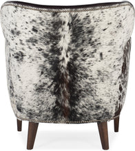 Load image into Gallery viewer, Hooker Furniture Living Room Kato Leather Club Chair w/ Salt Pepper HOH - Dream art Gallery