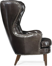 Load image into Gallery viewer, Hooker Furniture Living Room Souvereign Tufted Wing Chair - Dream art Gallery