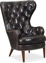 Load image into Gallery viewer, Hooker Furniture Living Room Souvereign Tufted Wing Chair - Dreamart Gallery