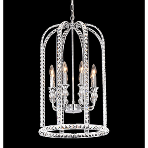 Chrome Celestial Chandelier