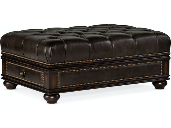 Living Room Chesshire Drawer Ottoman - Dreamart Gallery