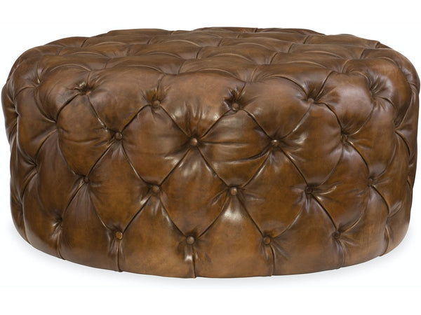 Hazel Round Ottoman - Dream art Gallery