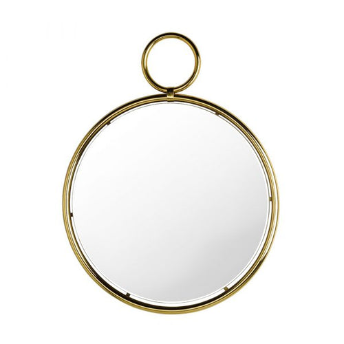 Kendo Gold Wall Mirror