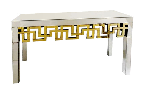 Gold Tiffany Console Table - Dreamart Gallery