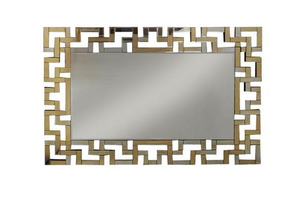 Gold Tiffany Wall Mirror - Dreamart Gallery