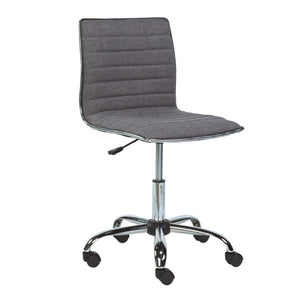 Hugo Slate Fabric Office Chair