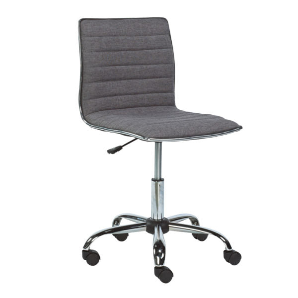 Hugo Slate Fabric Office Chair - Dream art Gallery