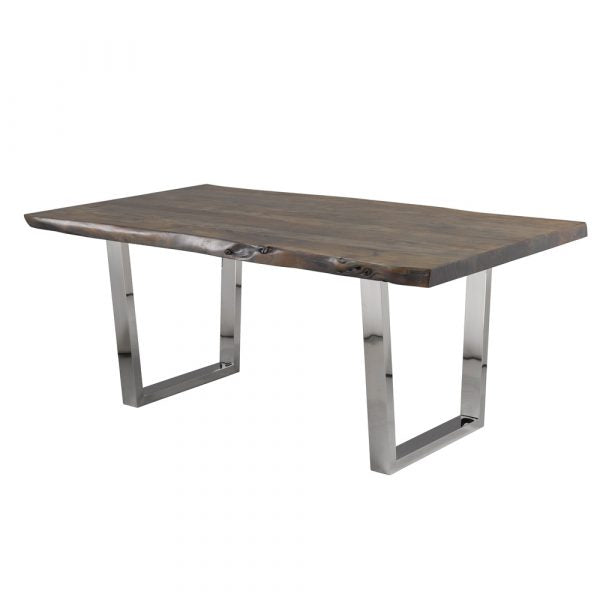 Organic Live Edge Dining Table 72″