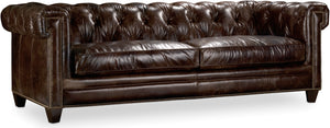 Hooker Furniture Living Room Chester Stationary Sofa - Dream art Gallery