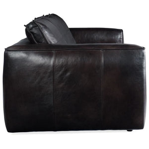 Solace Leather Stationary Sofa
