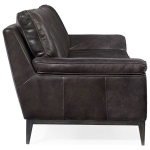 Kandor Leather Stationary Sofa