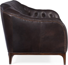 Load image into Gallery viewer, Hooker Furniture Living Room Mozart Leather Stationary Sofa - Dreamart Gallery