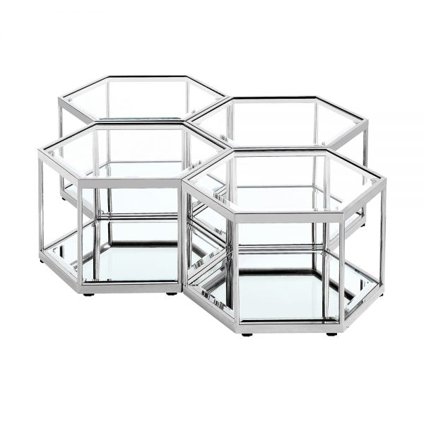 Silver Coffee Table - Dream art Gallery