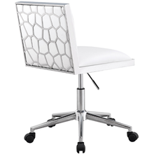 Load image into Gallery viewer, Wellington White Leatherette Office Chair - Dream art Gallery