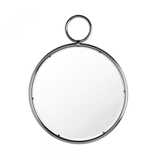 Kendo Silver Wall Mirror - Dream art Gallery