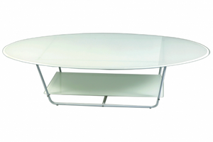 White Rose Coffee Table - Dream art Gallery