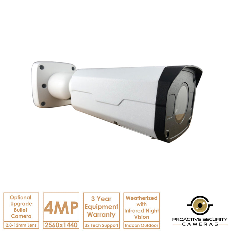 Dual threat vari-focal surveillance cam.