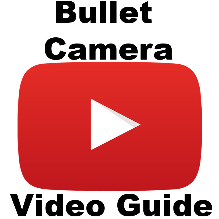1080P Bullet Camera with IR & 2.8-12mm Variable Focus Lens