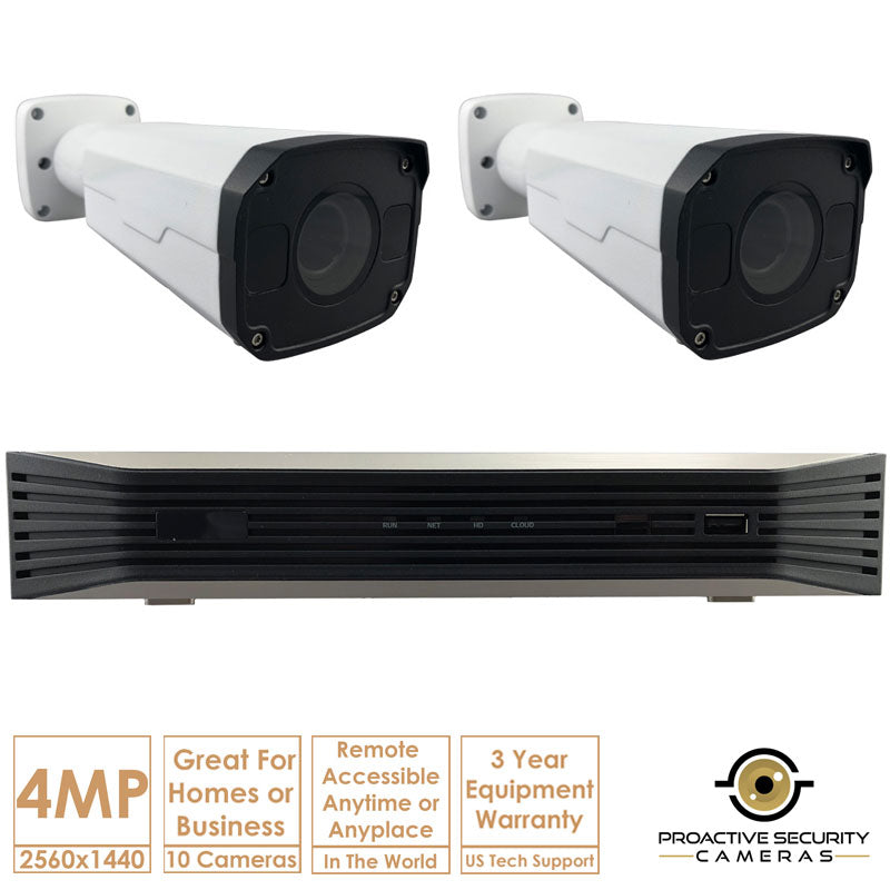 Includes everything required to install this CCTV system.