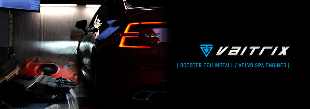 | INSTALL | BOOSTER ECU: VOLVO SPA T5/T6 Engines