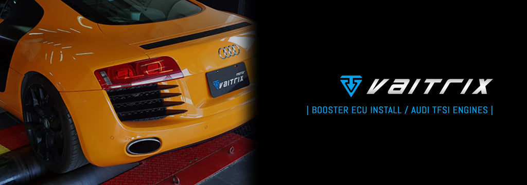 | INSTALL | BOOSTER ECU: AUDI 2.0L TFSI TURBO (Longitudinal)