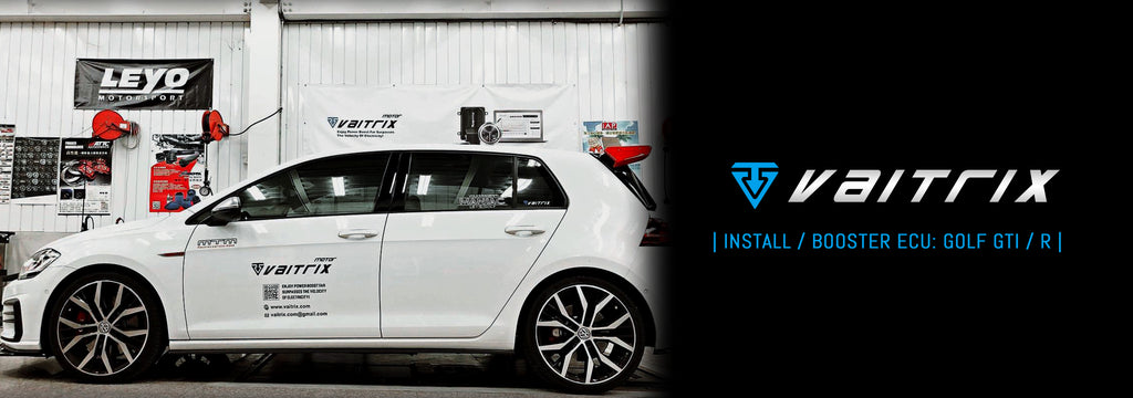| INSTALL | BOOSTER ECU: VW GOLF GTI / R