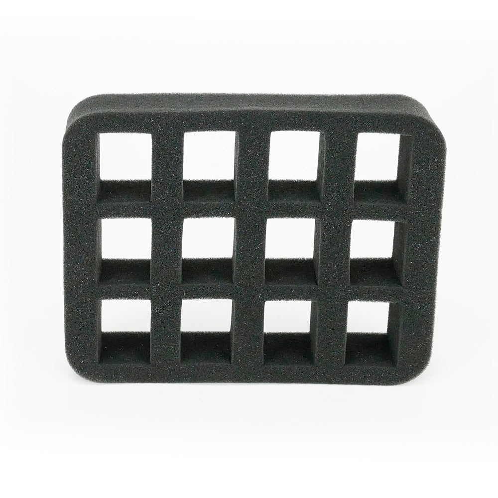 Square holes - Foam Insert - Lolabelle Nail Polish Cases